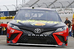 May 5, 2018 - Dover, Delaware, United States of America - Martin Truex, Jr (78) brings his car through the garage during practice for the AAA 400 Drive for Autism at Dover International Speedway in Dover, Delaware. (Credit Image: © Chris Owens Asp Inc/ASP via ZUMA Wire)