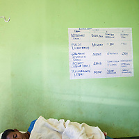 A patient waits for care from a Hamlin midwife near Bahir Dar, Ethiopia