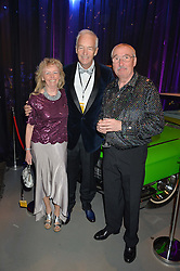 Left to right, SUSAN TOBELL, JON SNOW and GRAHAM TOBBELL at A Night of Motown in aid of Save The Children UK held at The Roundhouse, Chalk Farm Road, London on 3rd March 2016.