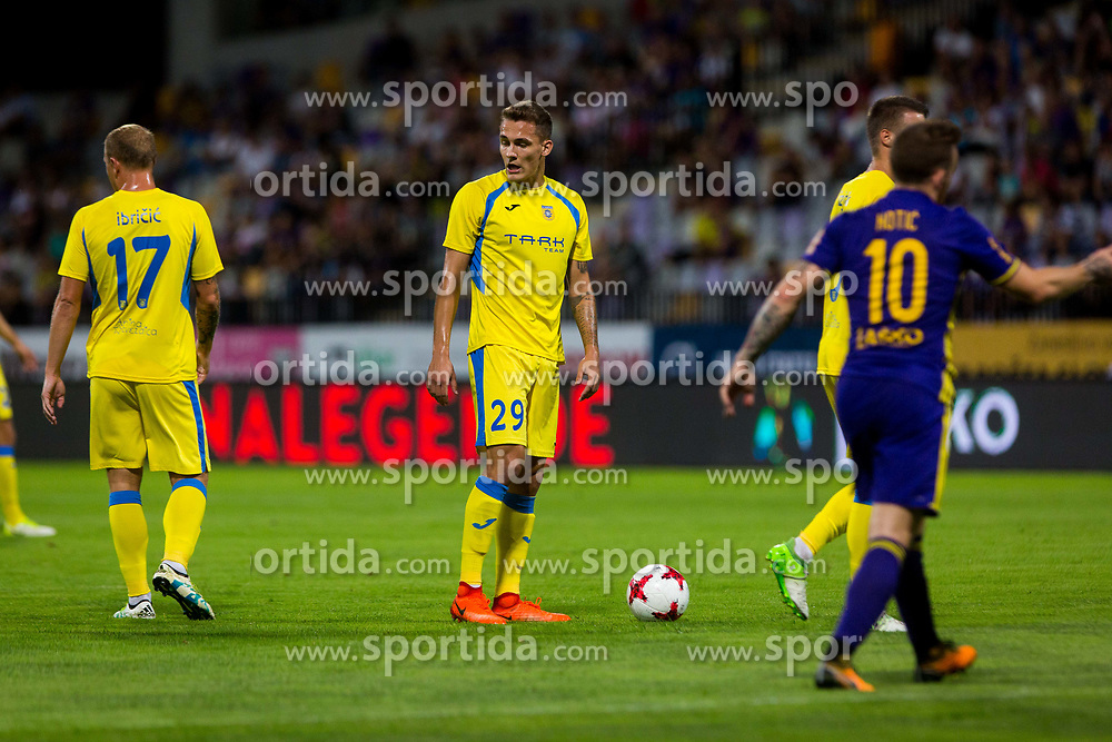 Jure Balkovec of NK Domzale during football match between NK Maribor and NK Domzale in 5th Round of Prva liga Telekom Slovenije 2017/18, on August 11, 2017 in Ljudski vrt, Maribor, Slovenia. Photo by Ziga Zupan / Sportida