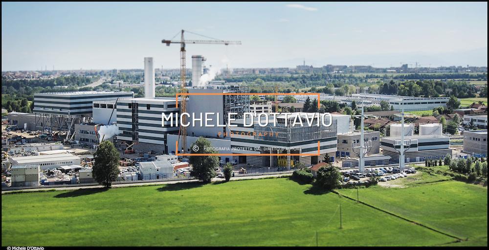 IREN ENERGIA, la centrale di cogenerazione Torino Nord produce  energia elettrica e calore che sarà distribuito nella rete di teleriscaldamento.