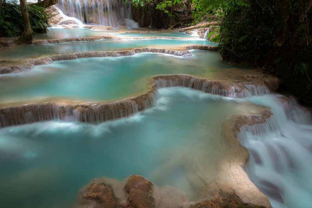 Waterfall in Lao