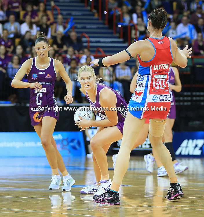 GRETEL TIPPETT (QUEENSLAND FIREBIRDS) - Photo: SMP IMAGES /Action from the ANZ Netball Championship Conference Finals clash between the Queensland Firebirds v NSW Swifts, played at the Brisbane Convention & Exhibition Centre Broadbeach, Queensland.