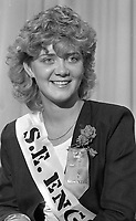 Anne Marie Doyle the South East England Rose, circa August 1986 (Part of the Independent Newspapers Ireland/NI Collection).