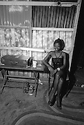 Fela Kuti Wife and Dancer at the Shrine - Lagos