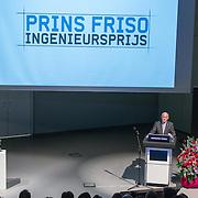 NLD/Enschede/20150318 - Prinses Beatrix en Prinses Mabel aanwezig bij uitreiking Prins Friso ingenieursprijs ,
