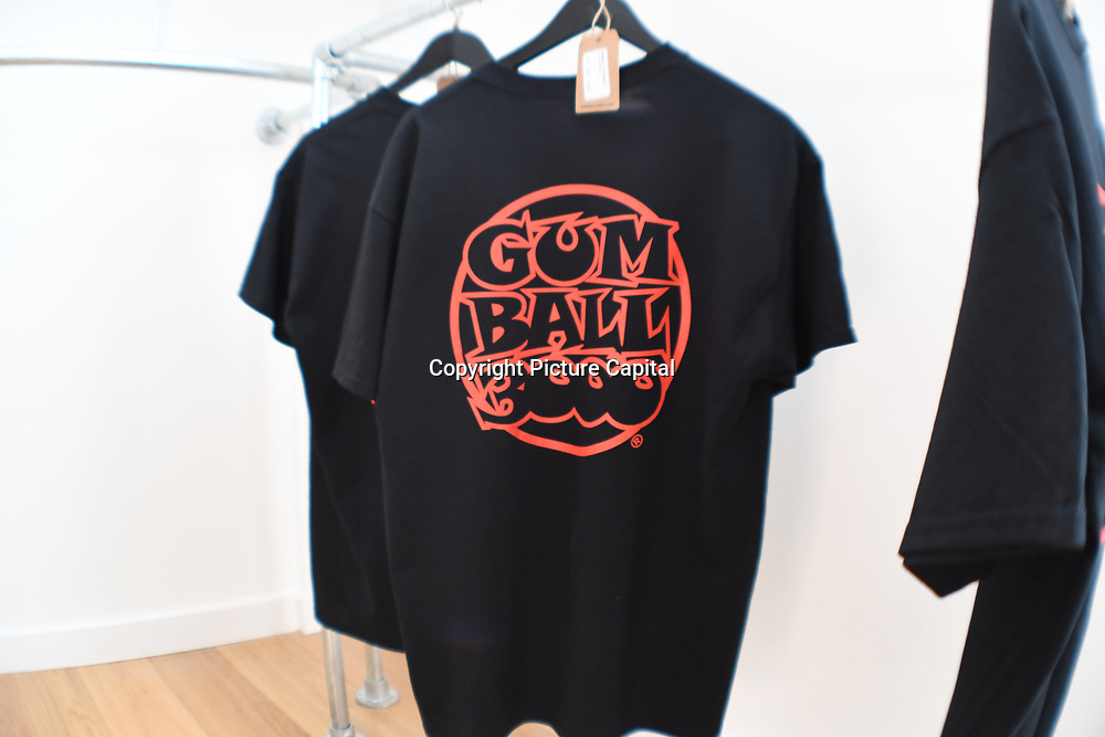 Gumball 3000 pop-up store in Covent garden on August 4 2018, London, UK.