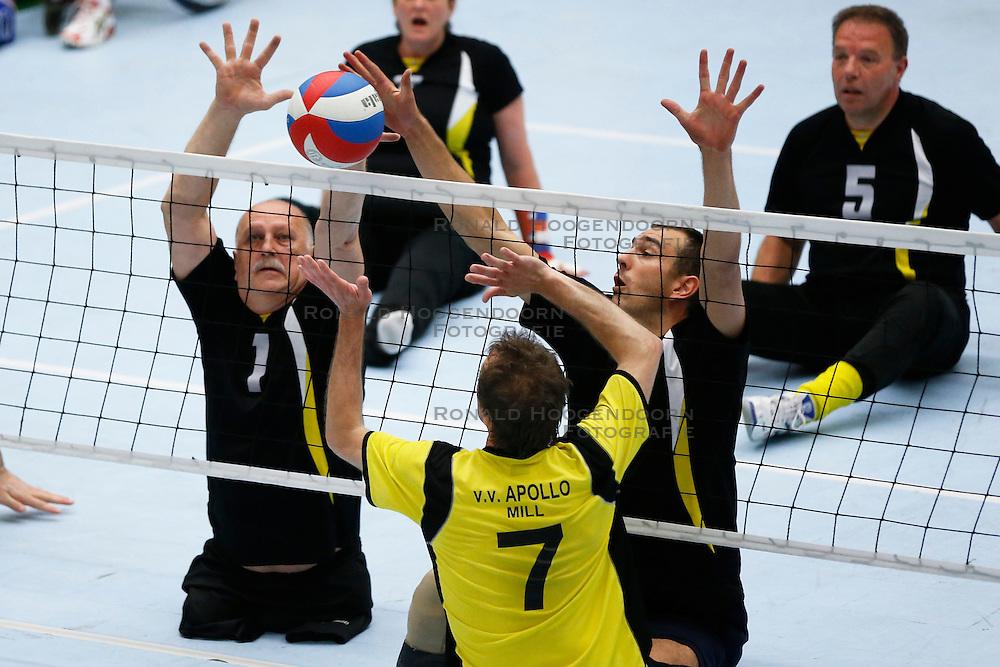 11-05-2013 VOLLEYBAL: NK ZITVOLLEYBAL : BELFELD<br /> Volleer wint de halve finale met 3-0 van VV Apollo, Jacob Hoeksma van Volleer<br /> &copy;2013-FotoHoogendoorn.nl / Pim Waslander