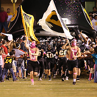 Adam Robison | BUY AT PHOTOS.DJOURNAL.COM<br /> Pontotoc takes the field to face Amory Friday night