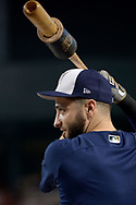 PHOENIX, AZ - JUNE 09:  Ryan Braun #8 of the Milwaukee Brewers warms up during batting practice prior to the MLB game against the Arizona Diamondbacks at Chase Field on June 9, 2017 in Phoenix, Arizona. The Milwaukee Brewers won 8-6.  (Photo by Jennifer Stewart/Getty Images)