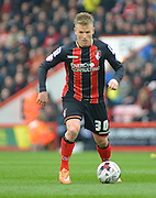 AFC Bournemouth's Matt Ritchie on the ball during the Sky Bet Championship match between Bournemouth and Blackpool at the Goldsands Stadium, Bournemouth, England on 14 March 2015. Photo by Mark Davies.