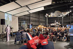 Hidden Heroes, an event celebrating the part played by Jewish volunteers in the Royal Air Force during World War Two, at the RAF Museum in London. The event is part of celebrations to mark the centenary of the RAF. Photo date: Thursday, November 15, 2018. Photo credit should read: Richard Gray/EMPICS
