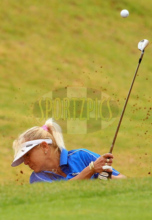 Marietjievan Achterberg during the first round of the Sanlam Cancer Challenge Finals held at Lost City Golf Course Club in Sun City near Johannesburg on the 21st October 2013<br /> <br /> Photo by Ron Gaunt - SPORTZPICS