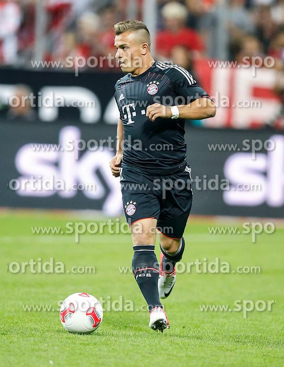 Football: Germany, Supercup 2012, FC Bayern Munich, Muenchen, 12.08.2012.Xherdan SHAQIRI.© pixathlon