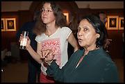 JUUL KRAIJER; ASHA MIRCHANDANI, The wapping project Mayfair opening in Dover St. London. 17 September 2014.