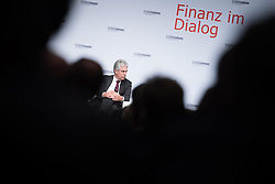 "17.11.2016, Sofiensäle, Wien, AUT, BMF, Diskussionsveranstaltung des Finanzministeriums ""Finanz im Dialog"", im Bild Bundesminister für Finanzen Hans Jörg Schelling (ÖVP) // Austrian Minister of Finance Hans Joerg Schelling during discussion meeting of the Austrian Finance Ministry with topic ""Global Challenges to Prosperous Future"" in Vienna, Austria on 2016/11/17, EXPA Pictures © 2016, PhotoCredit: EXPA/ Michael Gruber"