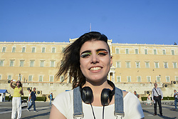 June 10, 2017 - Athens, Greece - Thousands of people took to the streets to participate in the annual Athens Pride Parade raising awareness and defending the right against sexual discrimination. (Credit Image: © Demetrios Ioannou via ZUMA Wire)