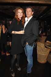 MR COLIN RADCLIFFE and model ANGELA DUNN at a party to celebrate the launch of Independent (Formerly ICM) held at Mahiki, 1 Dover Street, London W1 on 17th September 2007.<br /><br />NON EXCLUSIVE - WORLD RIGHTS
