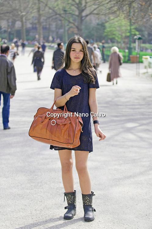 Paris Street Style / Nanon / Student / 16