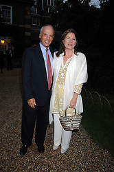 MICHEL & CHARLENE DE CARVALHO she is the Heiniken brewing heiress at the annual Cartier Chelsea Flower Show dinner held at the Chelsea Physic Garden, London on 21st May 2007.<br /><br />NON EXCLUSIVE - WORLD RIGHTS