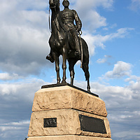 Monument to General George Meade, Commander of the Union Army of the Potomac, Gettysburg