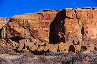 Pueblo Bonito, Chaco Culture National Historical Park, New Mexico USA.