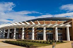 John Paul Jones Arena and 15,219 seat multi-purpose arena, home of the University of Virginia Cavaliers men's and women's basketball teams opened in 2006 at a cost over $132 million - University of Virginia, Charlottesville, VA, January 6, 2008.