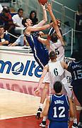 Francia 28/06/1999<br /> Campionati Europei di Basket Francia 1999<br /> Italia-Lituania<br /> Gregor Fucka