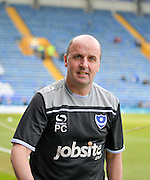 Portsmouth Manager Paul Cook during the Sky Bet League 2 match between Portsmouth and Newport County at Fratton Park, Portsmouth, England on 12 March 2016. Photo by Adam Rivers.