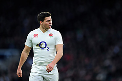 Ben Youngs of England - Mandatory byline: Patrick Khachfe/JMP - 07966 386802 - 27/02/2016 - RUGBY UNION - Twickenham Stadium - London, England - England v Ireland - RBS Six Nations.