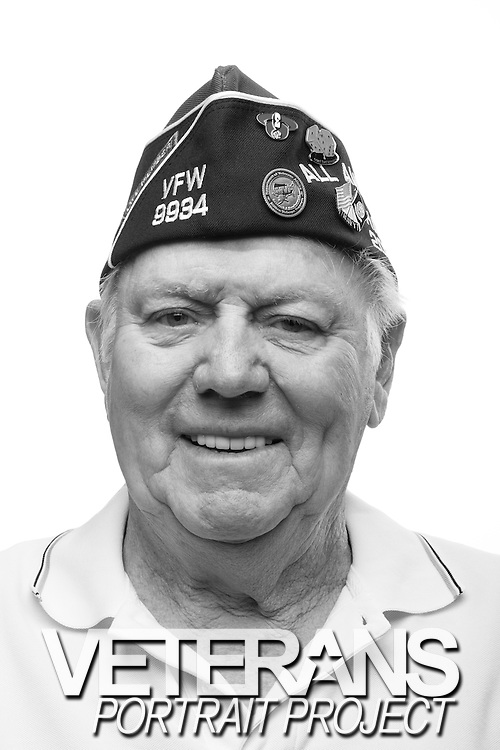 Maurice N. Hansen<br /> Navy<br /> Petty Officer 2nd Class<br /> Radioman<br /> 1951-1955<br /> Korea<br /> <br /> Veterans Portrait Project<br /> Louisville, KY<br /> VFW Convention <br /> (Photos by Stacy L. Pearsall)
