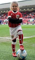 Bristol City mascot  - Mandatory by-line: Nizaam Jones/JMP - 17/03/2018 - FOOTBALL - Ashton Gate Stadium- Bristol, England - Bristol City v Ipswich Town - Sky Bet Championship