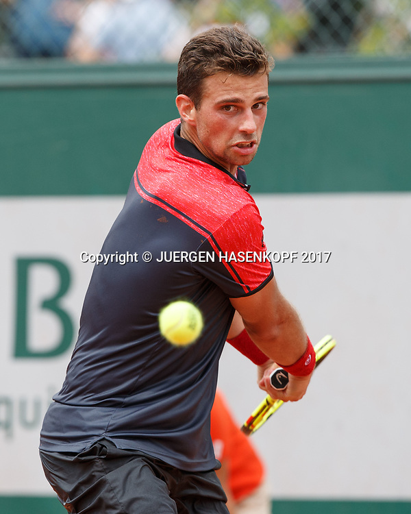 STEFANO NAPOLITANO (ITA)<br /> <br /> Tennis - French Open 2017 - Grand Slam ATP / WTA -  Roland Garros - Paris -  - France  - 29 May 2017.