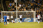 The Montreal Impact react to a San Jose Earthquakes goal in the second half of the game at Buck Shaw Stadium in Santa Clara, California, on September 17, 2013.  The San Jose Earthquakes beat Montreal Impact 3-0. (Stan Olszewski/QMI Agency)