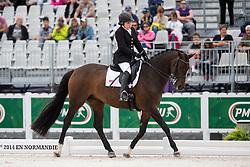 Ashley Gowanlock, (CAN), Ferdonia 2 - Individual Test Grade Ib Para Dressage - Alltech FEI World Equestrian Games™ 2014 - Normandy, France.<br /> © Hippo Foto Team - Jon Stroud <br /> 25/06/14