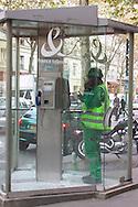 France Telecom phonebox , Paris.