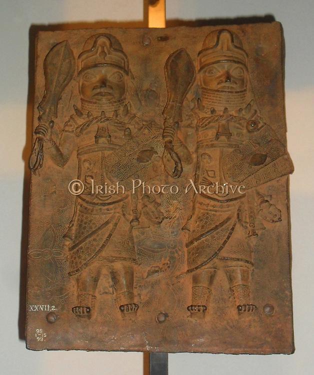 Plaque, Brass, Benin, Nigeria, 16th century.