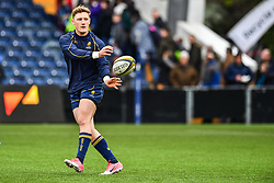 Tom Howe of Worcester Warriors during the pre match warm up - Mandatory by-line: Craig Thomas/JMP - 27/01/2018 - RUGBY - Sixways Stadium - Worcester, England - Worcester Warriors v Exeter Chiefs - Anglo Welsh Cup