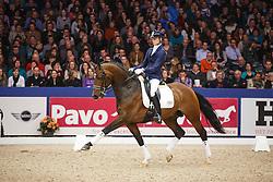 Franckx Tom (NED) - Charmingmood<br /> KWPN Stallion Selection - 's Hertogenbosch 2014<br /> © Dirk Caremans