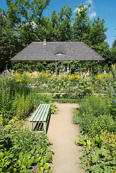 Garden at Summer house of German artist Max Liebermann in Wannsee Berlin Germany