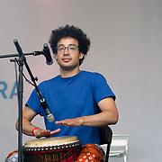 Native Sun preforms at the Eid Festival 2018 in Trafalgar Square, London, UK on June 23 2018.