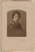 Attributed to Nojima Yasuzo<br /> Nonomiya Shashin Kan<br /> <br /> Bust portrait of a young lady, 1920s.<br /> From the Nonomiya Shashin Kan (Nonomiya Photographic Studio) which was owned and operated by Nojima Yasuzo. This image is thought to have been taken by Nojima himself. <br /> <br /> Toned bromide gelatin silver print with embossed studio name in the recto.<br /> Print size: 3 5/8 in. x 5 1/2 in. (92 mm x 137 mm).<br /> Studio enclosure size (when folded up): 9 3/4 in. x 6 in. (153 mm x 245 mm).<br /> <br /> Offered as part of a collection of images by Nojima's Tokyo studios.<br /> <br /> <br /> <br /> <br /> <br /> <br /> <br /> <br /> <br /> <br /> <br /> <br /> <br /> <br /> <br /> <br /> <br /> <br /> <br /> <br /> <br /> <br /> <br /> <br /> <br /> <br /> <br /> <br /> <br /> <br /> <br /> <br /> <br /> <br /> <br /> <br /> <br /> <br /> <br /> <br /> <br /> <br /> <br /> <br /> <br /> <br /> <br /> <br /> <br /> <br /> <br /> <br /> <br /> <br /> <br /> <br /> <br /> <br /> <br /> <br /> <br /> <br /> <br /> <br /> <br /> <br /> <br /> <br /> <br /> <br /> <br /> <br /> <br /> <br /> <br /> <br /> <br /> <br /> <br /> <br /> <br /> <br /> .