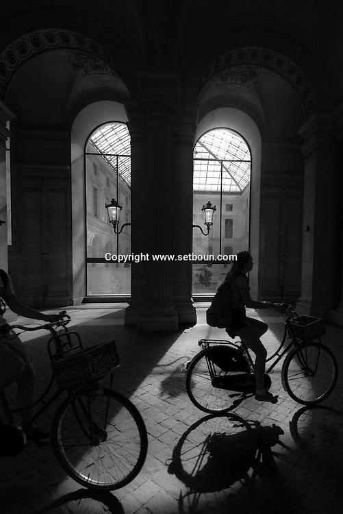 France. Paris. 1st district. Louvre museum.
