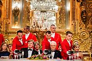 20- 6-2017 ROME - Koning Willem-Alexander en Koningin Maxima Staatsbanket <br /> locatie: Palazzo del Quirinale  president Mattarella Laura Matarella.  4 daags staatsbezoek van Koning Willem-Alexander en koningin Maxima aan de Republiek Itali&euml; en de Heilige Stoel in Vaticaanstad . COPYRIGHT ROBIN UTRECHT <br /> <br /> 20- 6-2017 ROME - King Willem-Alexander and Queen Maxima State Bank<br /> Location: Palazzo del Quirinale President Mattarella Laura Matarella. 4-day state visit of King Willem-Alexander and Queen Maxima to the Republic of Italy and the Holy See in Vatican City. COPYRIGHT ROBIN UTRECHT