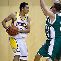 Riordan v Drake Boys Basketball 120410