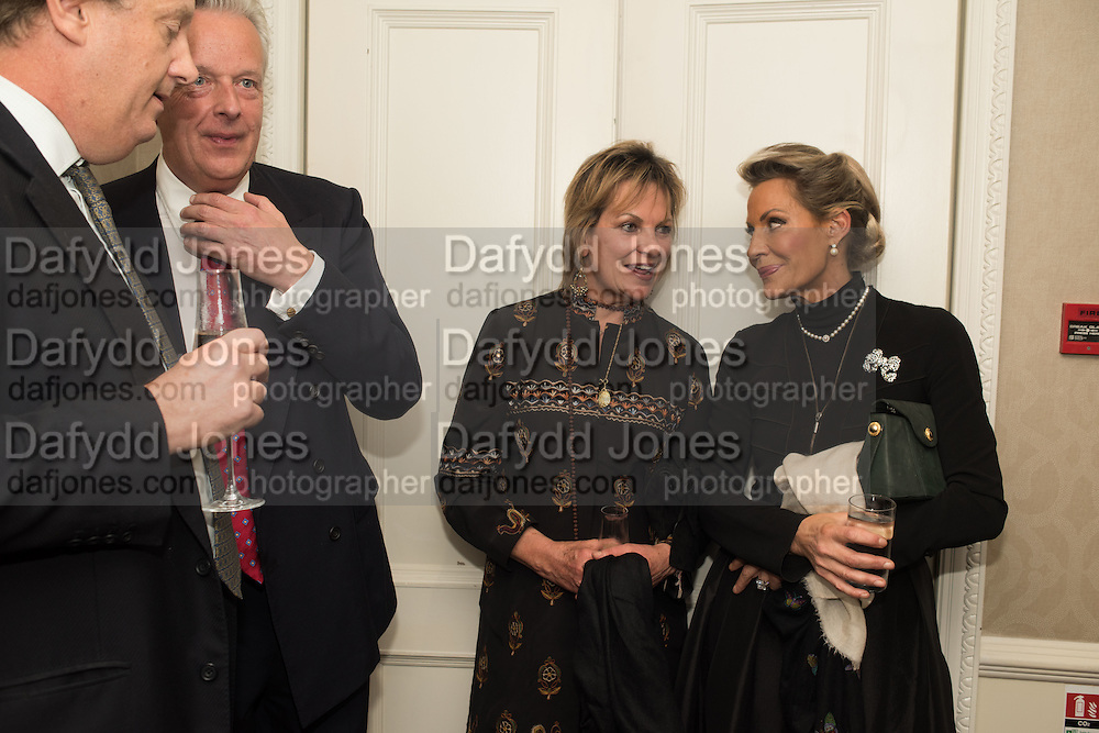 DAVID WINDSOR-CLIVE; VISCOUNT WINDSOR; VISCOUNTESS WINDSOR; LEONIE FRIEDA;, An evening of entertainment at St James Court in support of the redevelopment of St Fagans National History Museum. In the spirit of the court of Llywelyn the Great . St. James Court Hotel. London. 17 September 2015<br />  <br /> Noson o adloniant yn St James Court i gefnogi ail-ddatblygiad Sain Ffagan Amgueddfa Werin Cymru