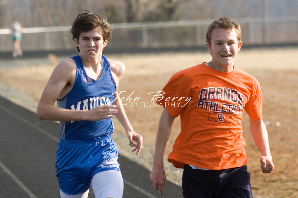 MCHS Track & Field.vs Orange and Greene.March 22, 2007
