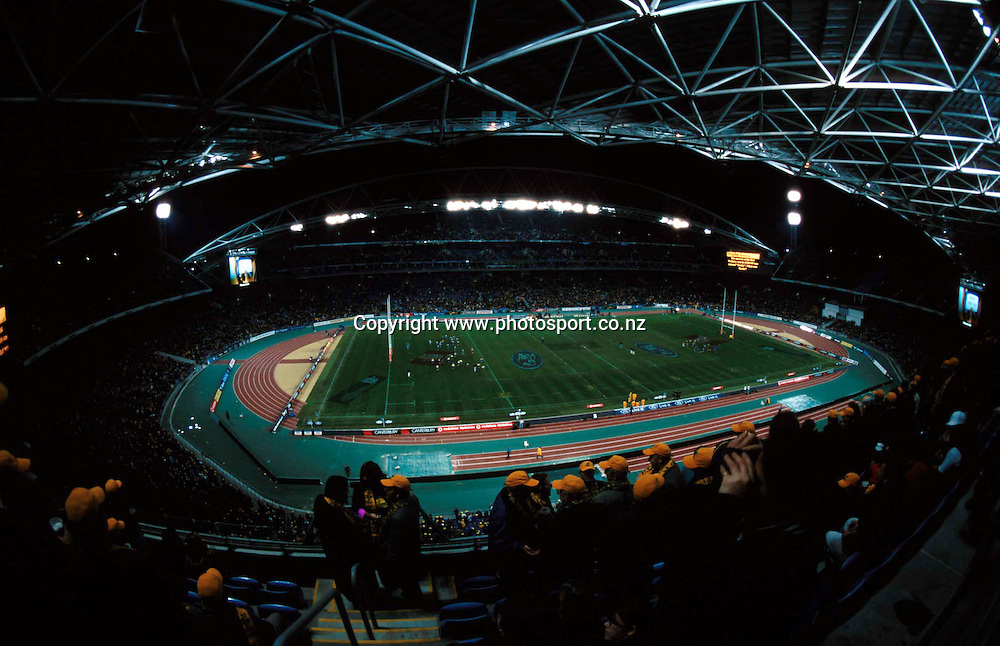 15 July 2000, Rugby Union, Australia vs All Blacks, Stadium Australia, Sydney, Australia.<br />