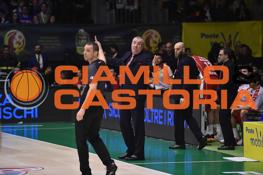 Repesa Jasmin<br /> Grissinbon Reggio Emilia - Olimpia Milano<br /> Poste Mobile Final Eight F8 2017 <br /> Lega Basket 2016/2017<br /> Rimini, 18/02/2017<br /> Foto Ciamillo-Castoria/M.Matta