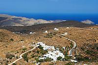 Grece, Cyclades, ile de Tinos, paysage du nord // Greece, Cyclades islands, Tinos, north island landscape